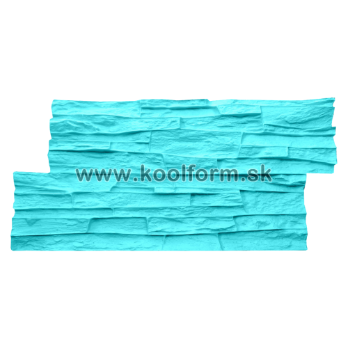 Stamp forma profesionál na razenie obkladu vzor lámaný kameň 33