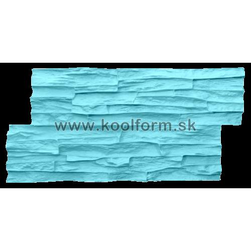 Stamp forma profesionál na razenie obkladu vzor lámaný kameň 33c