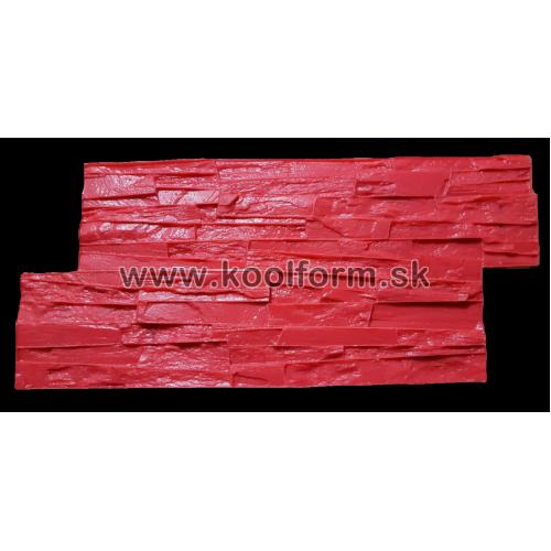 Stamp forma profesionál na razenie obkladu vzor lámaný kameň 24c