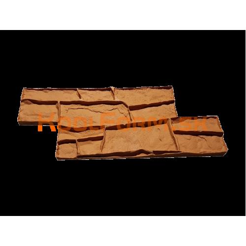 Stamp forma profesionál na razenie obkladu vzor obkladový kameň 11a